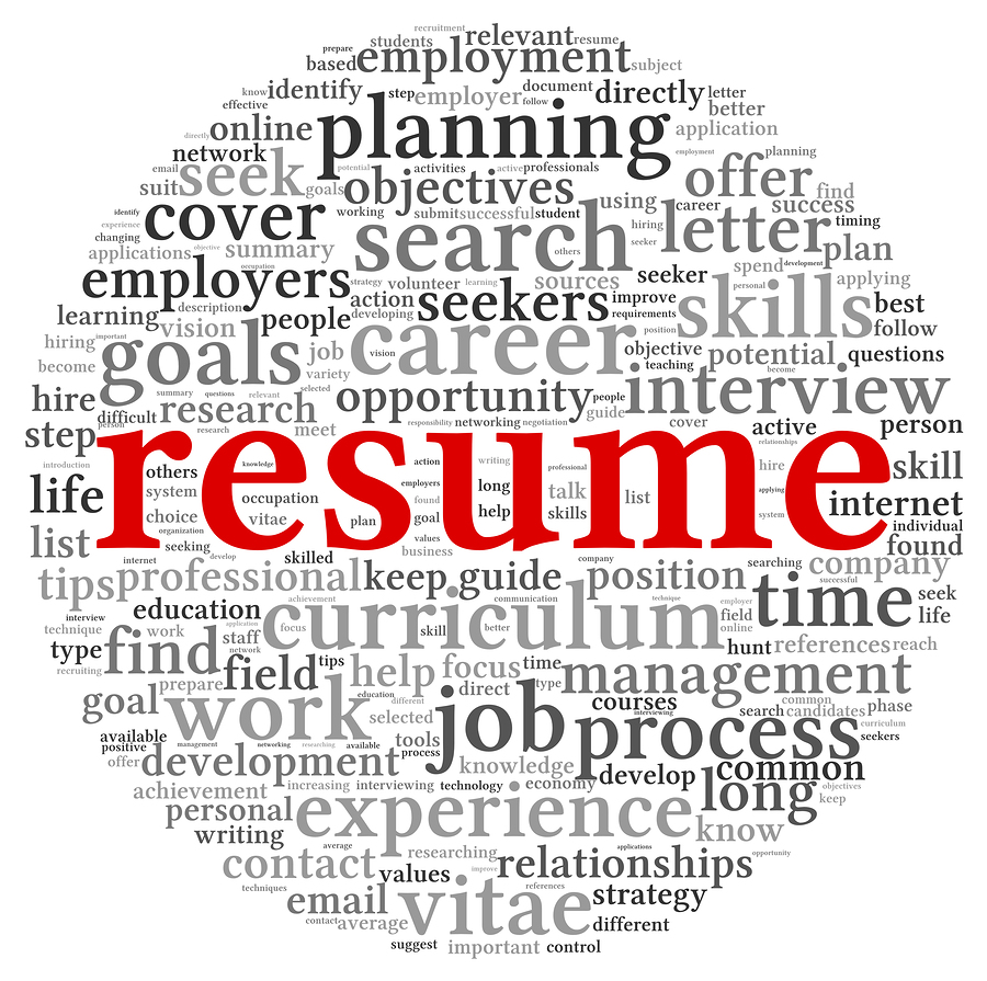 Bigstock Resume Concept In Word Tag Clo 36378274  Writing Resumes