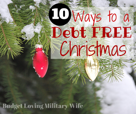 Commit to a Debt Free Christmas