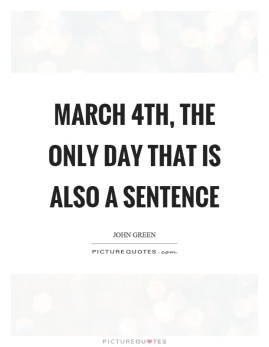 Image result for march 4th
