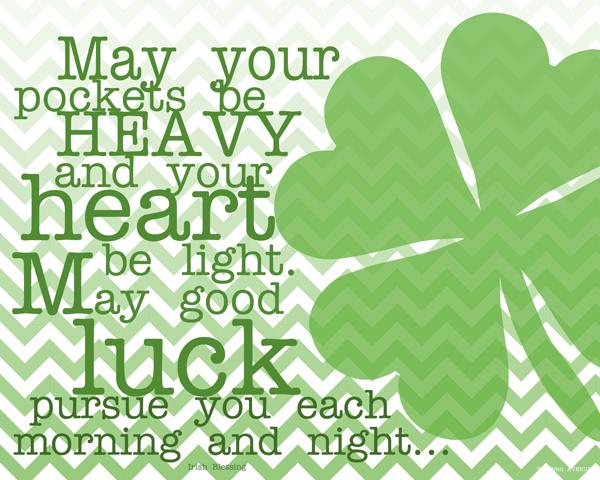 Super St Patrick\'s Day Quotes!!! | The Super Organizer Universe